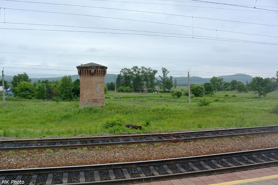 Водонапорная башенка на ст. Новонежино