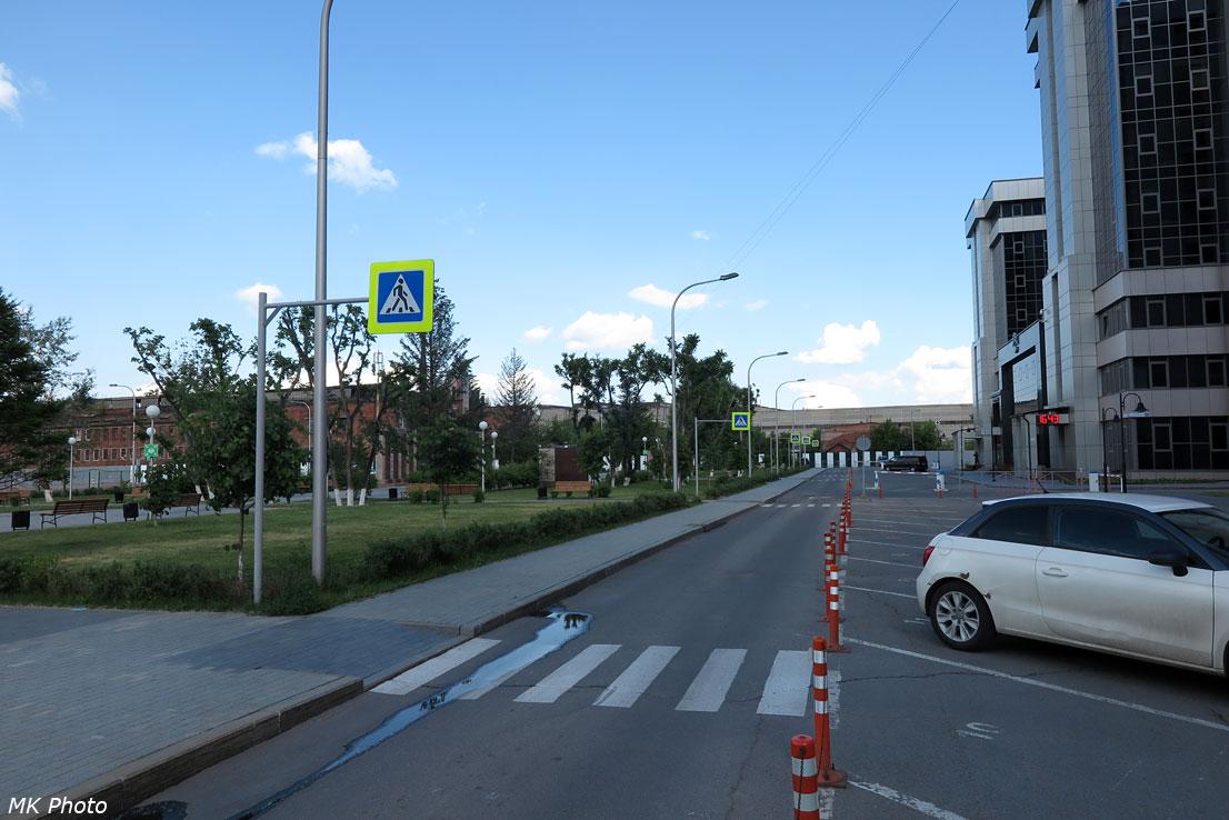 Пять пешеходных переходов