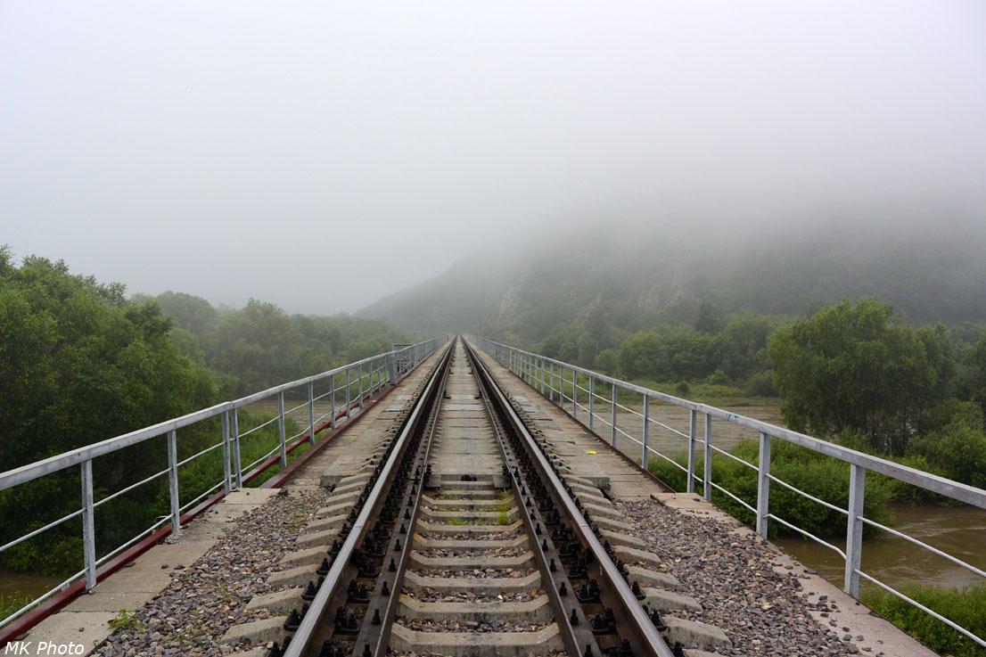 Мост через Уссури и Матвеевку