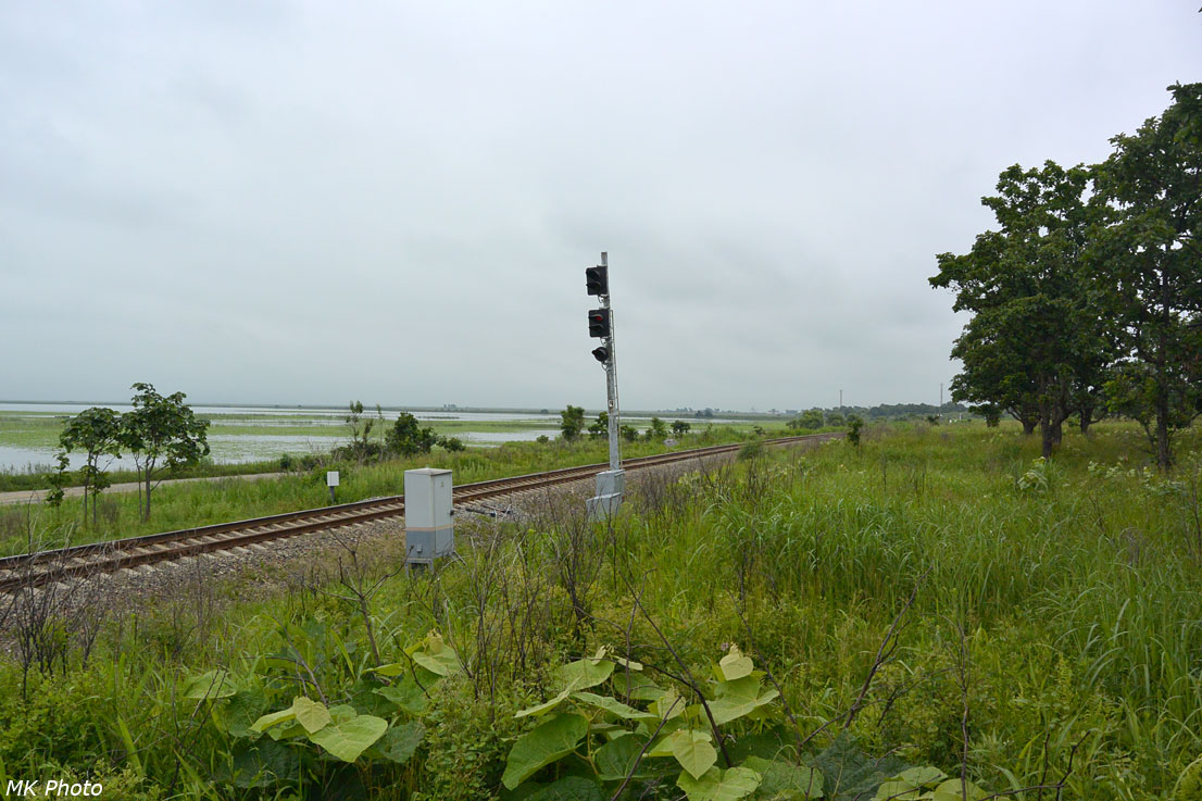 Входной светофор станции Хасан