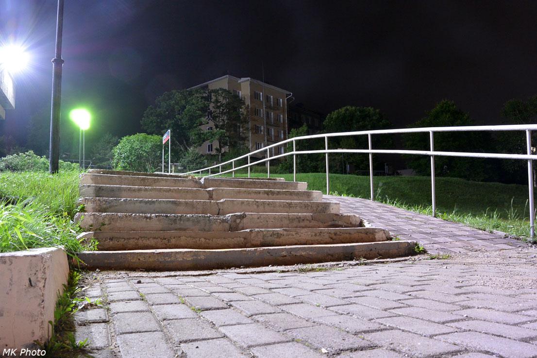 Лестница в посёлок