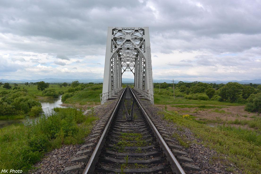 Мост через протоку р. Золотая