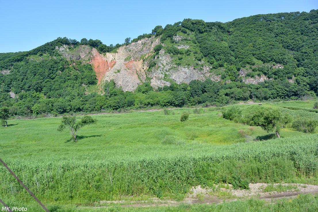 Остатки вулкана