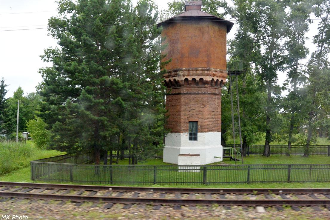 Водонапорная башня на ст. Котиково