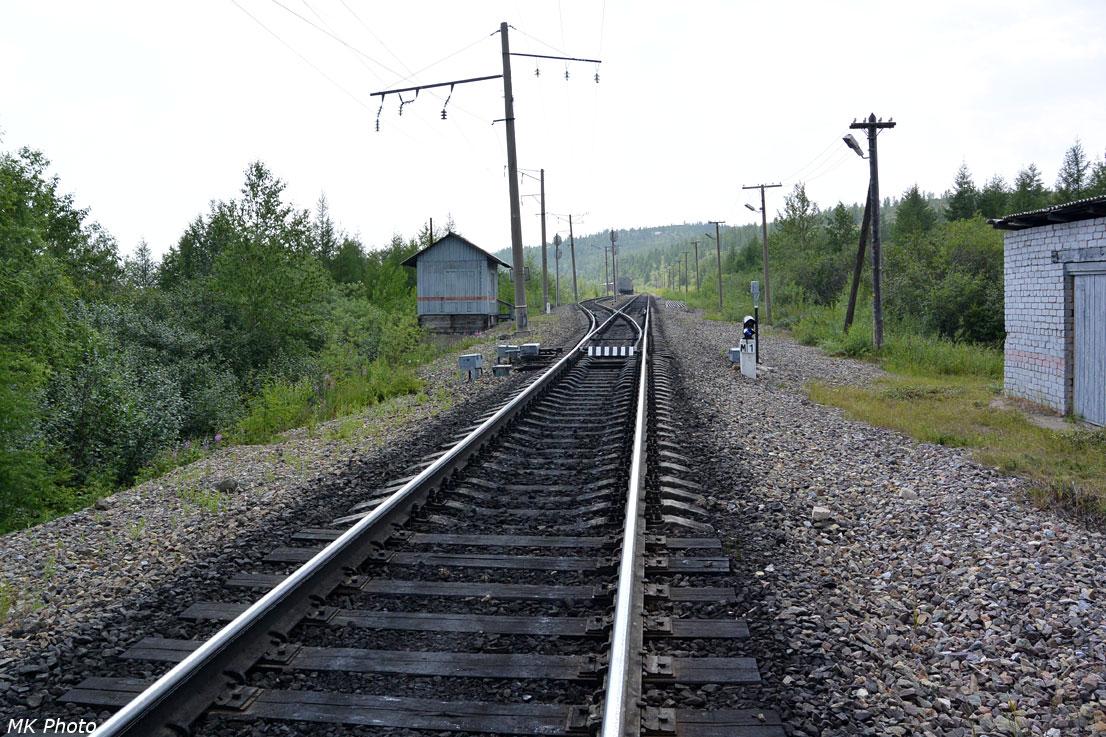 Северная горловина рзд. Якутский