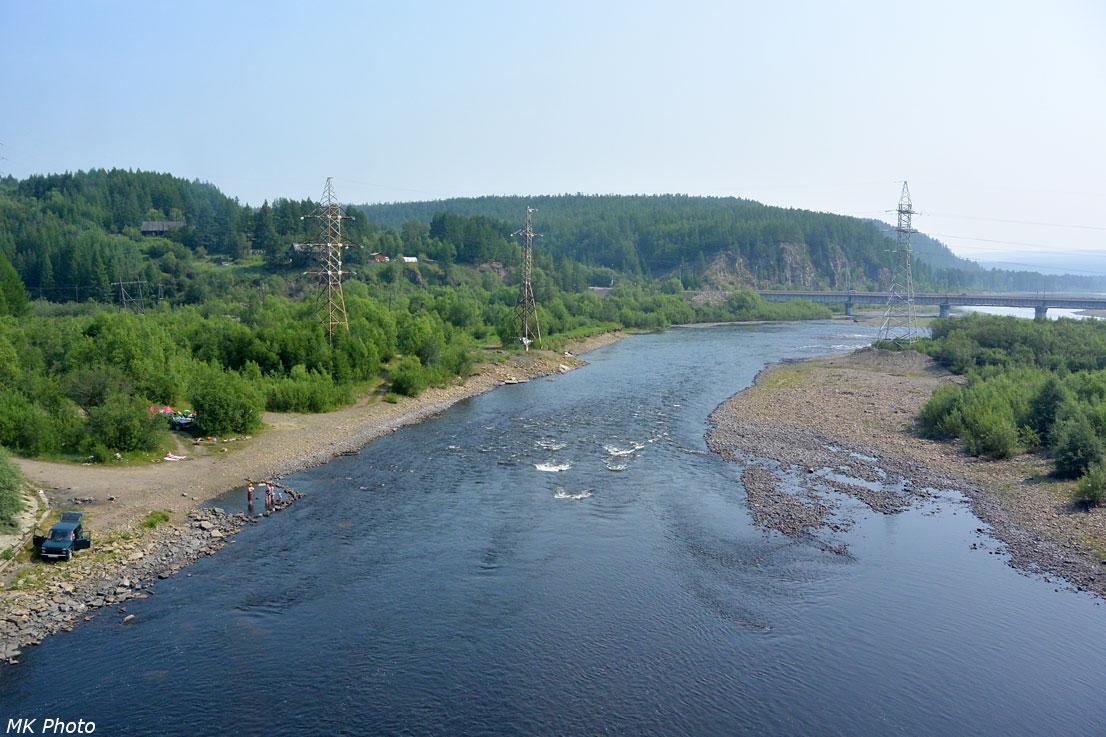 Виды с 5-го моста через Чульман