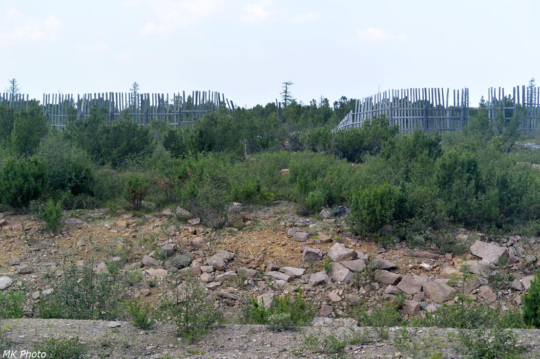 Забор от заносов