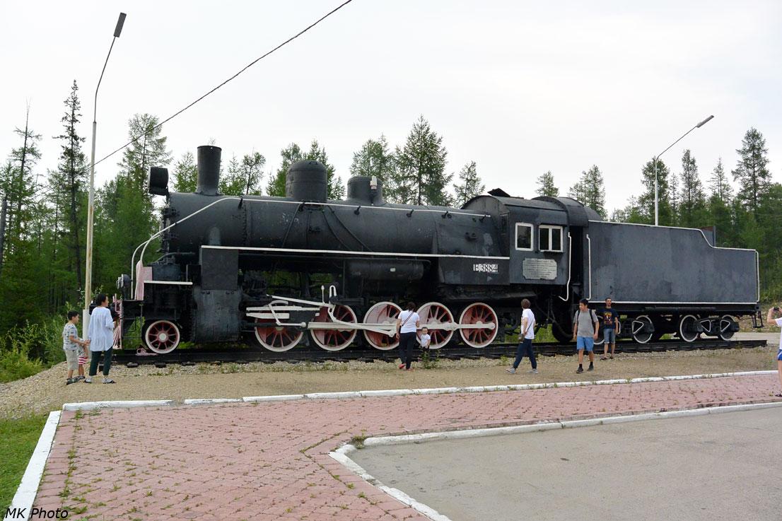 Паровоз-памятник Е 3884