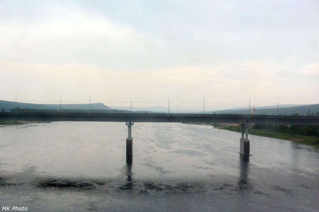 Автомобильный мост через Алдан