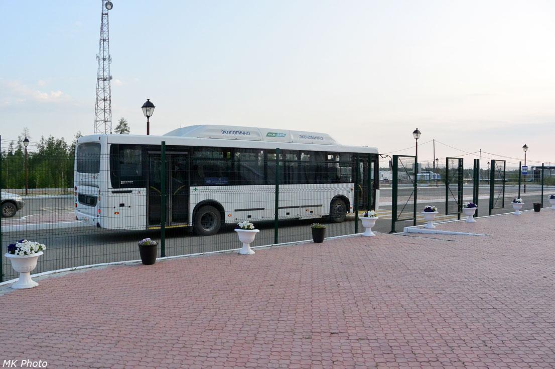 Автобус от станции Нижний Бестях до пристани на Лене