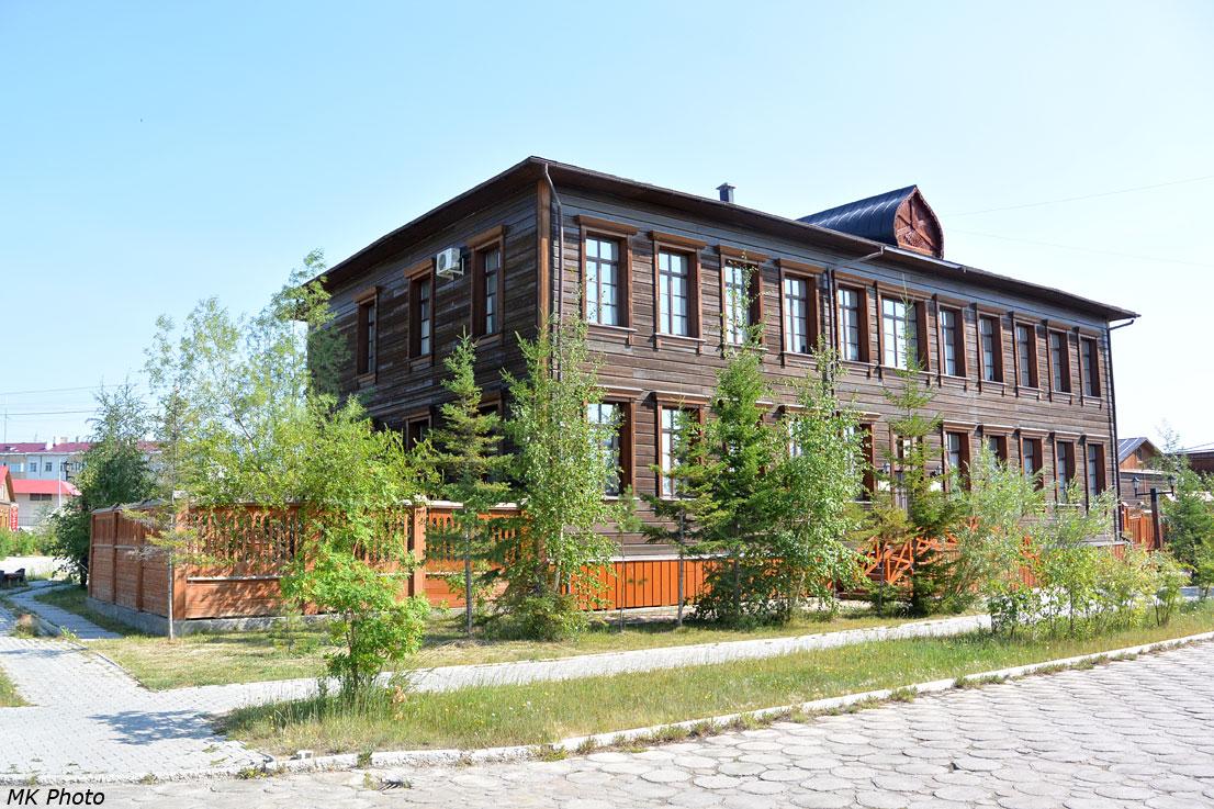 Здание Якутской и Ленской епархии.