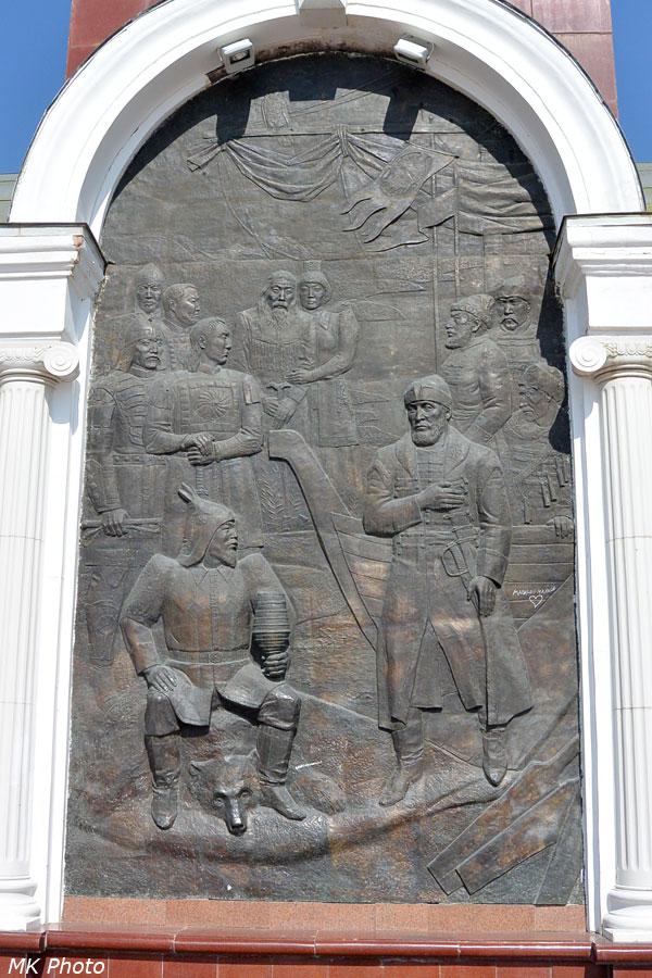 Монумент в честь основания Якутска