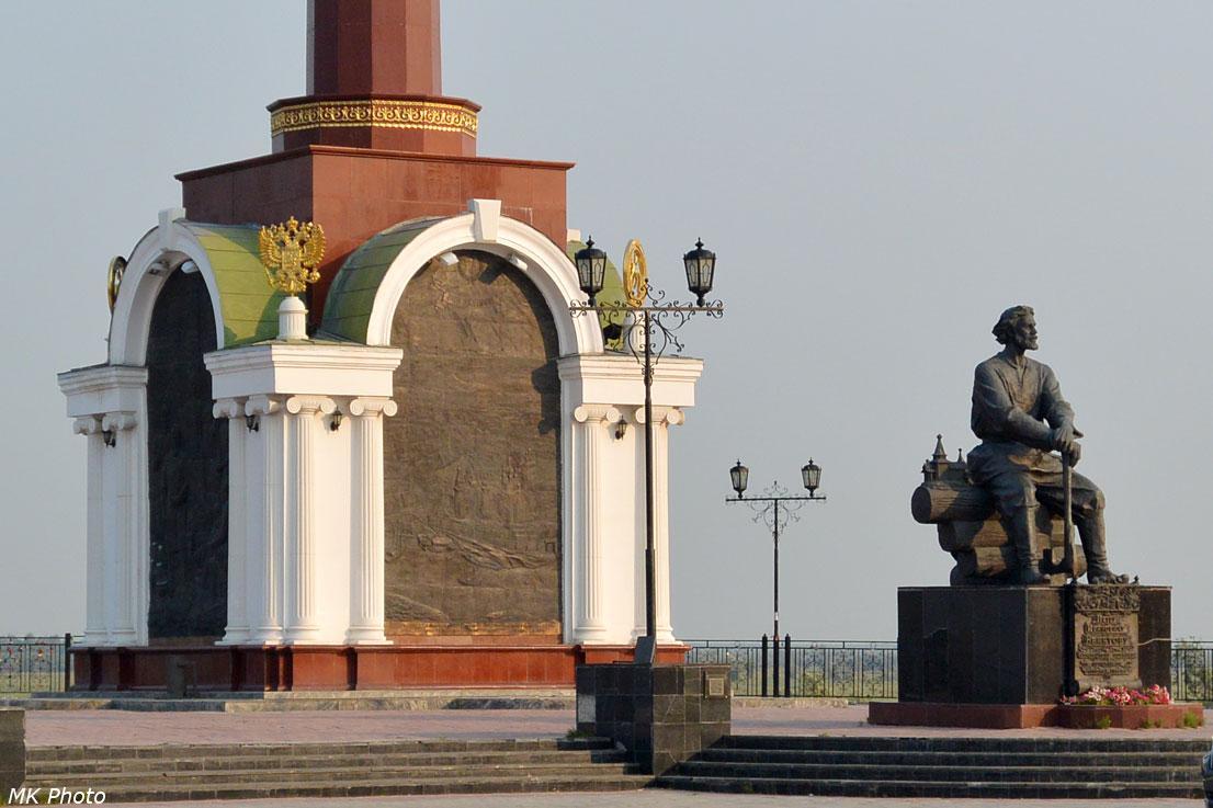 Памятник Бекетову