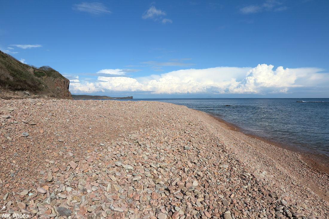 Пляж, на котором мы отдыхали