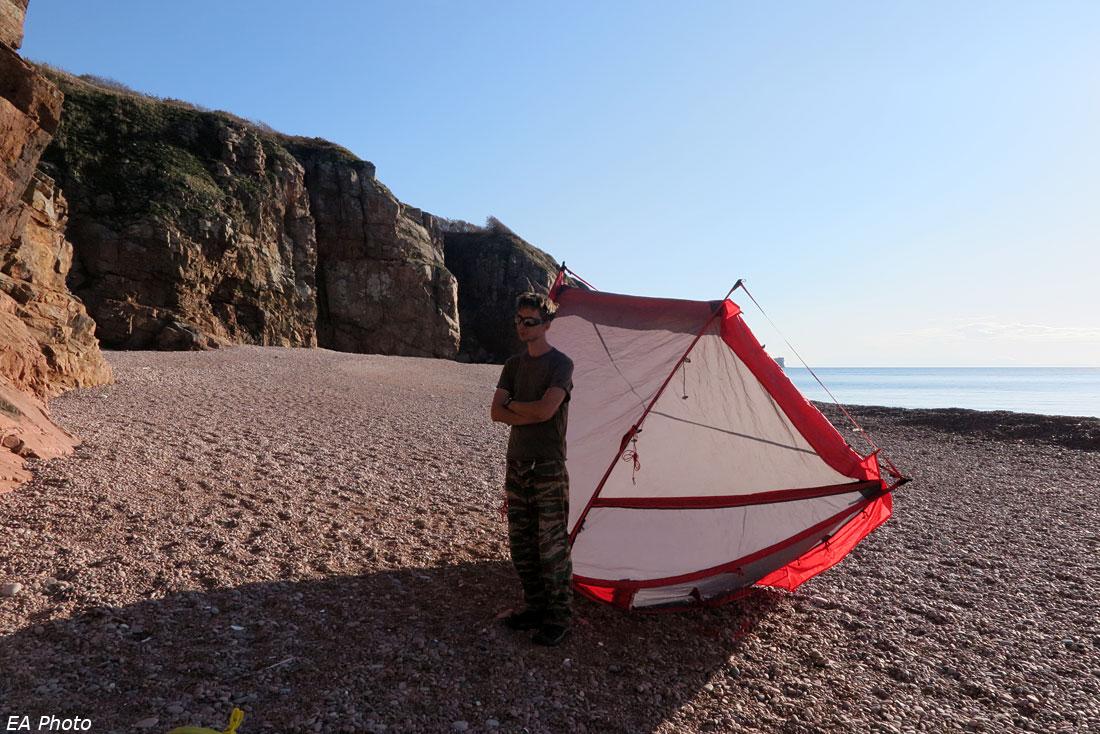 Сушим палатку
