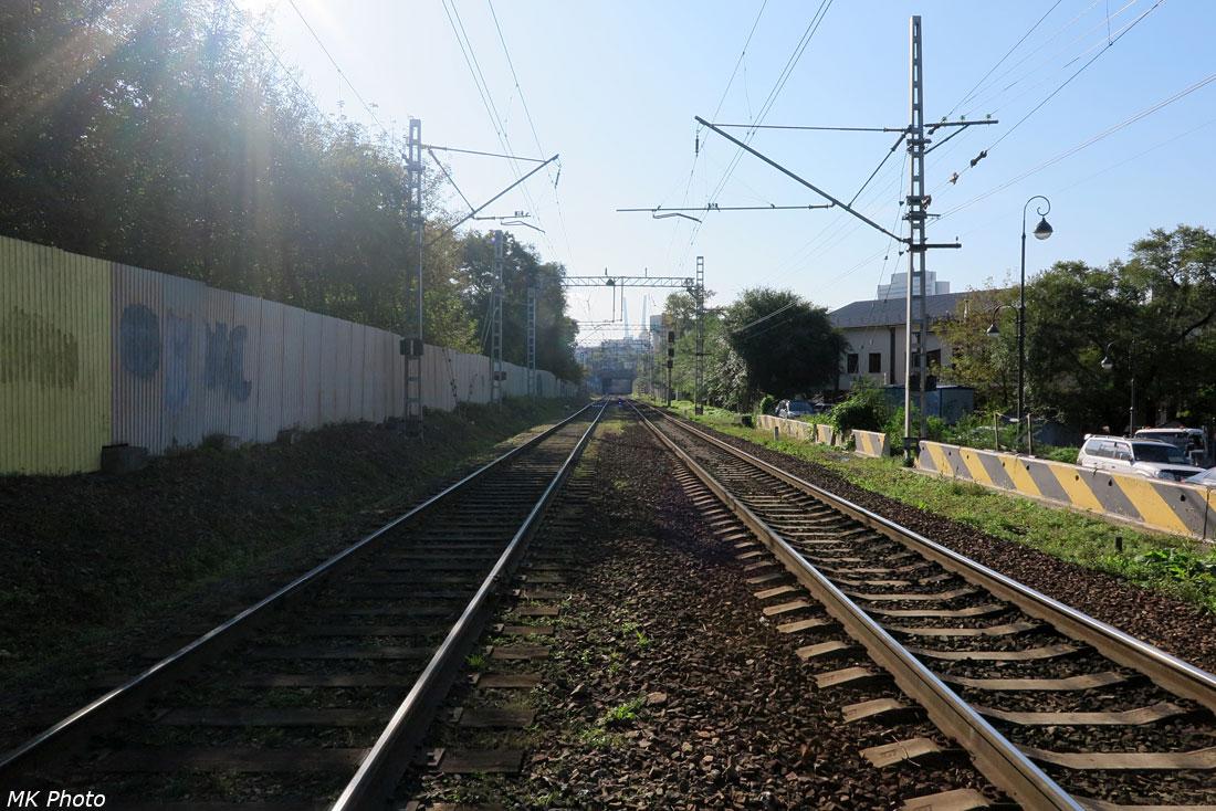 Входной светофор станции Владивосток