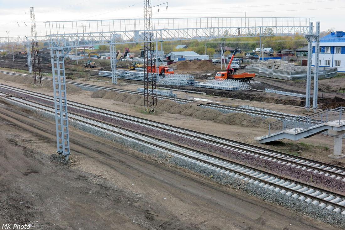 Реконструкция станции Тайшет