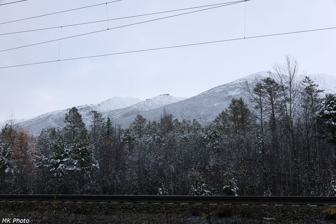 Утренние горы