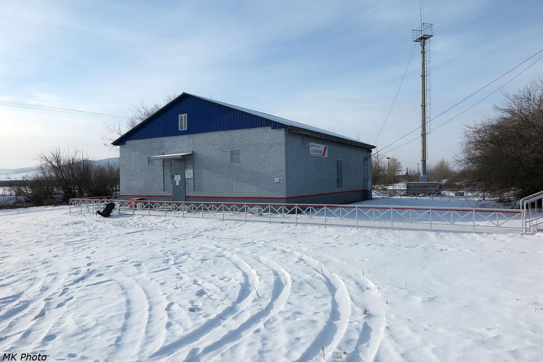 Станционное здание Оронгой