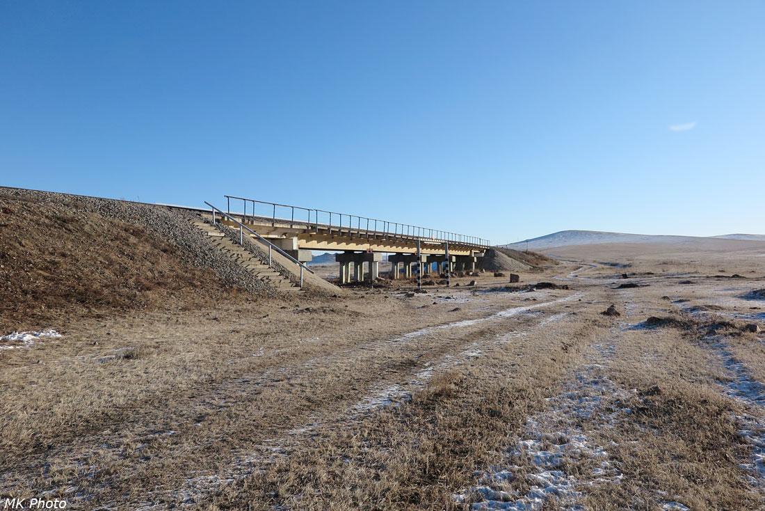 Мост черед падь Тарбазитуй
