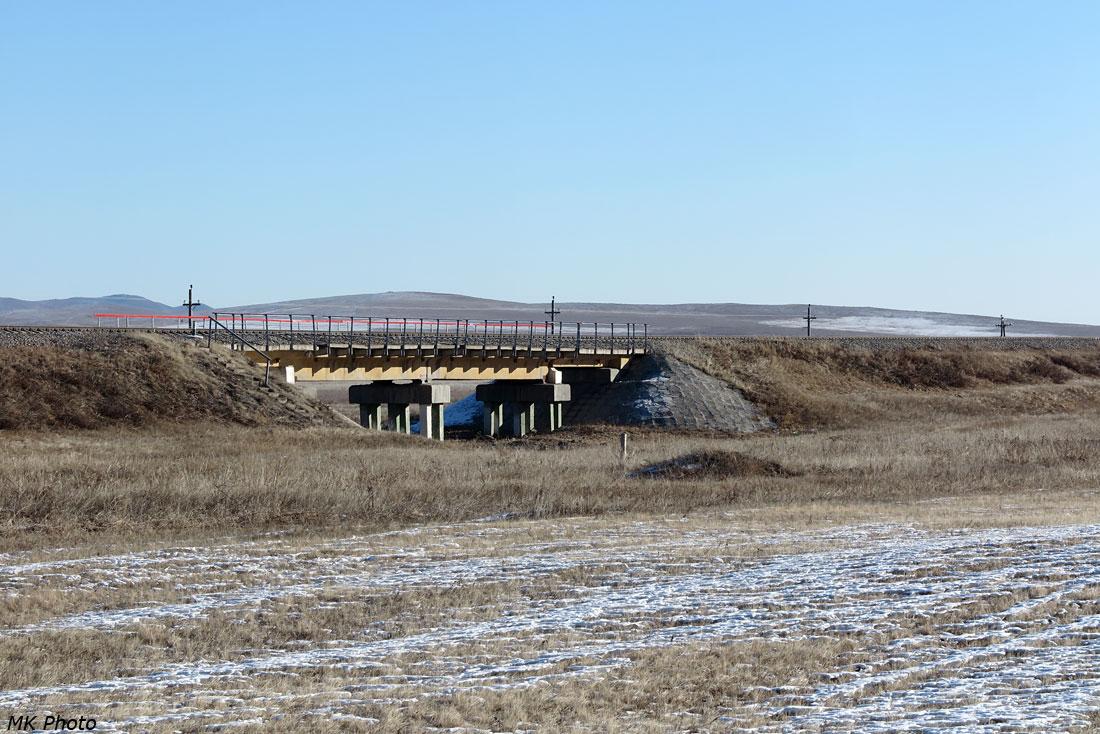 Мост над падью