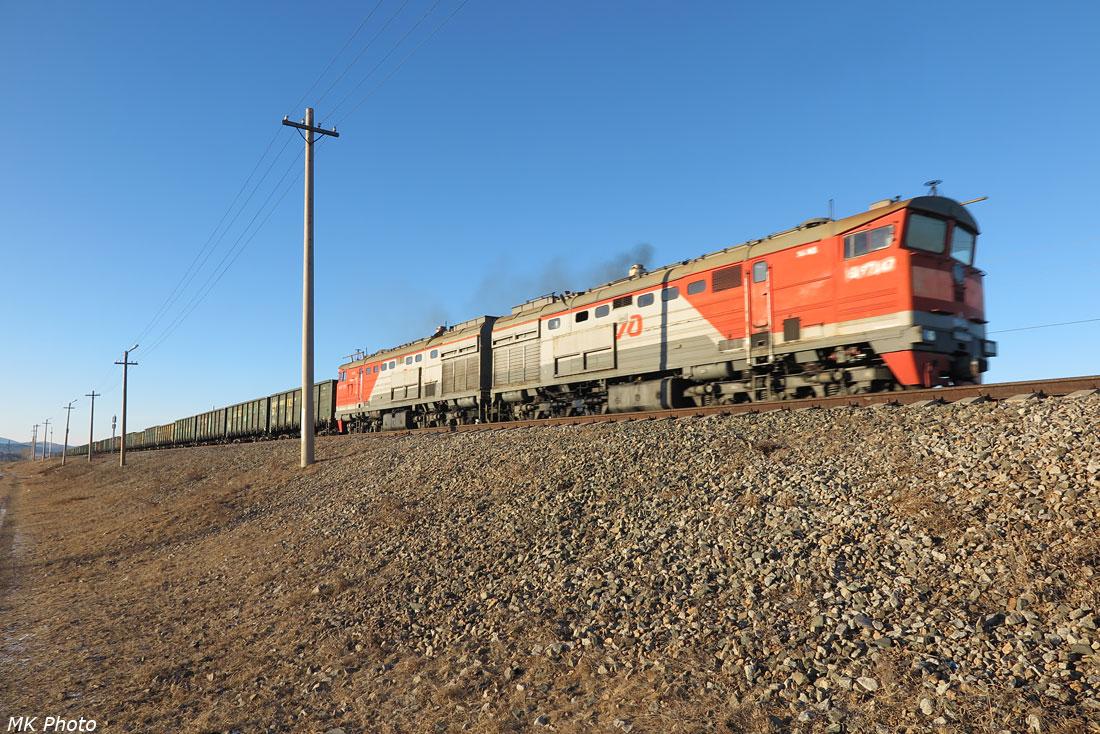 Поезд с углём