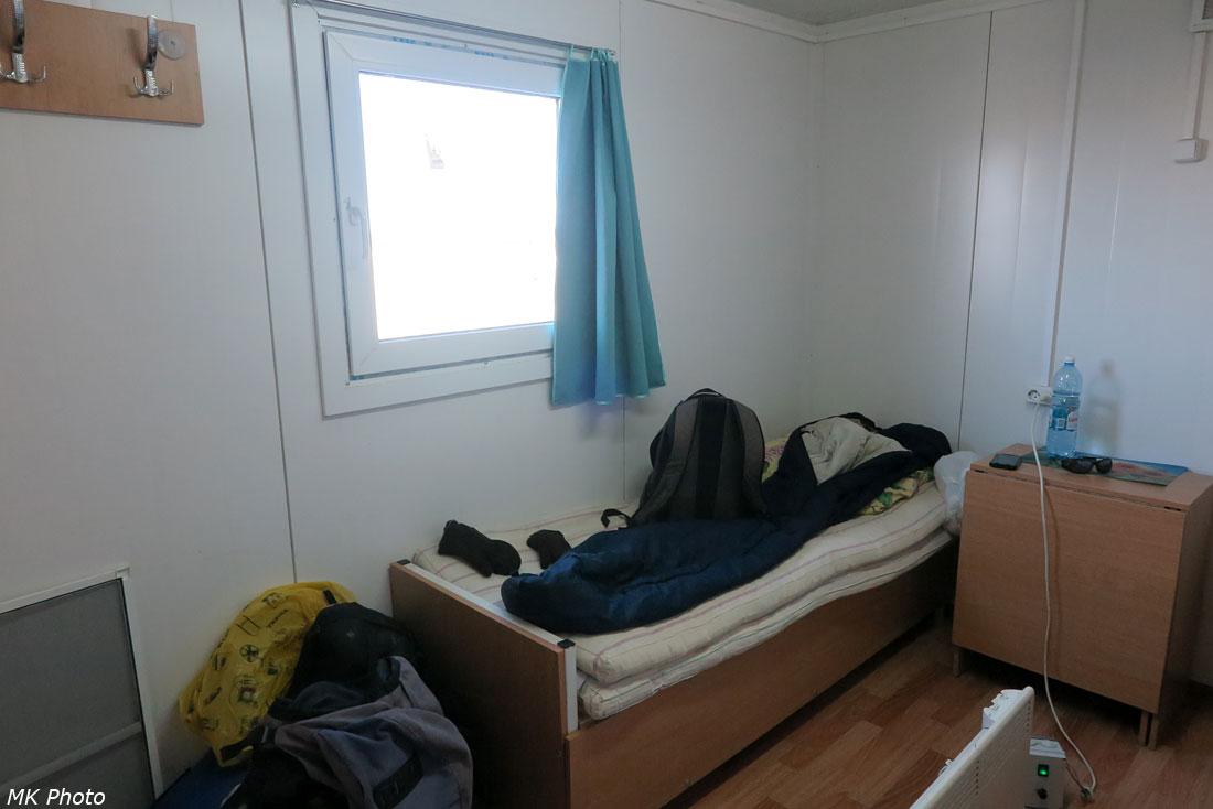 Моё спальное место