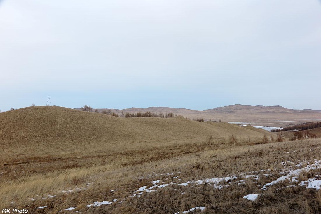 Степь к югу от Иткуля