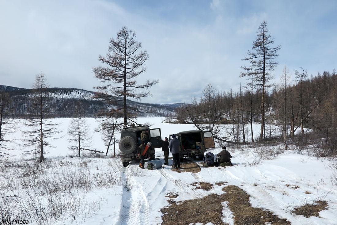 Перед съездом на лёд