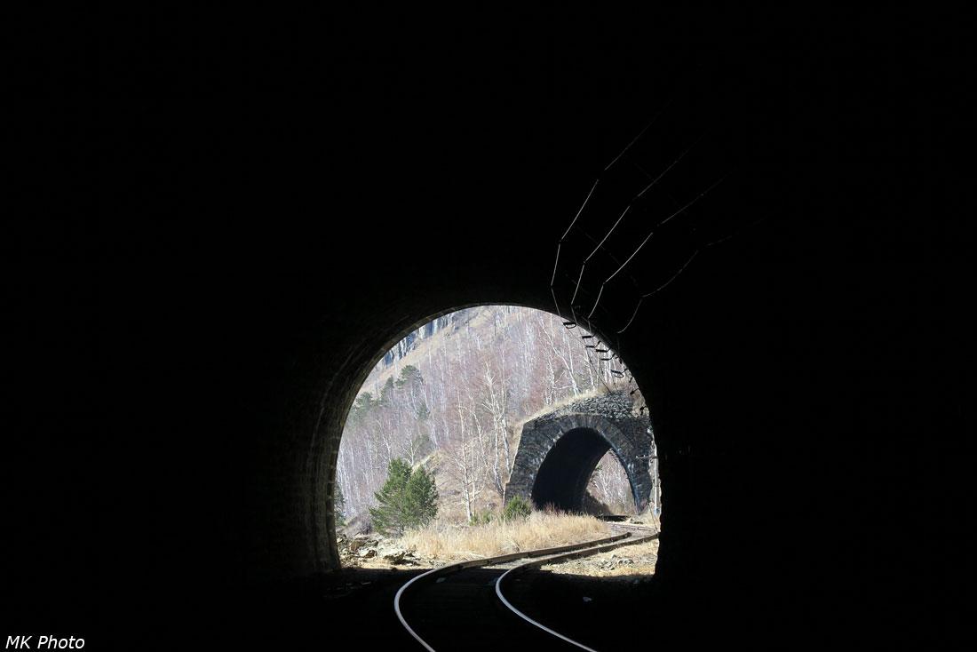 Вид из тоннеля 5 на галерею 2