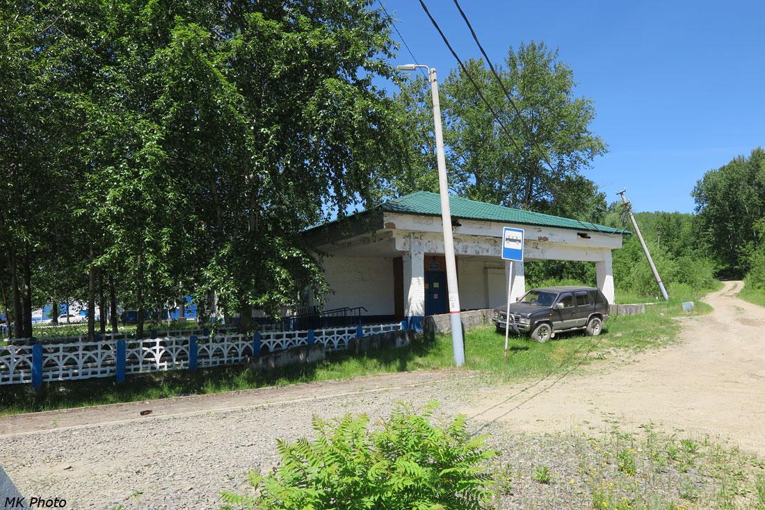 Автобусная остановка у вокзала Кун