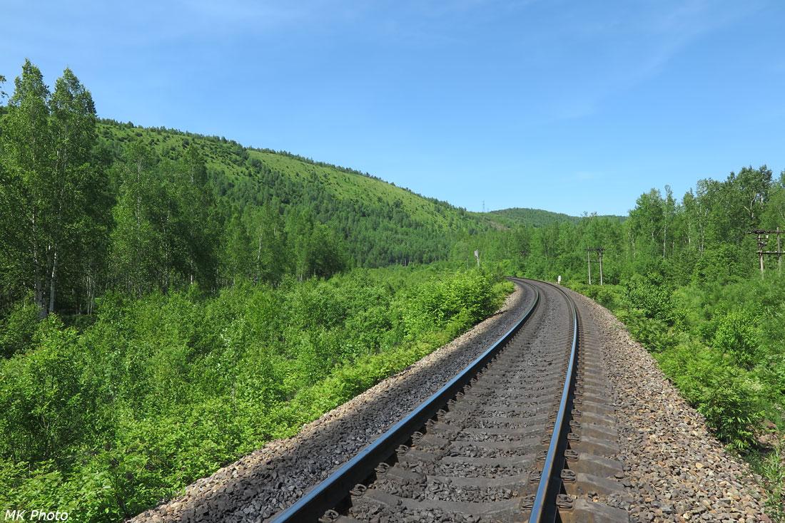 Железная дорога в долине Гура