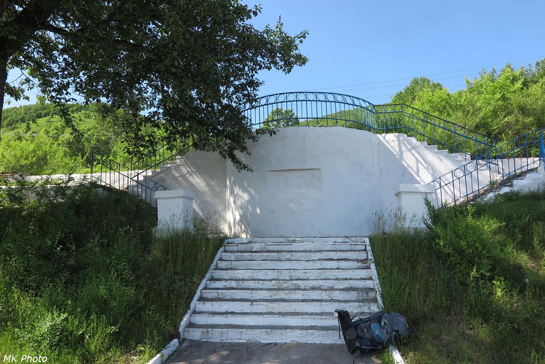 Лестница к вокзалу