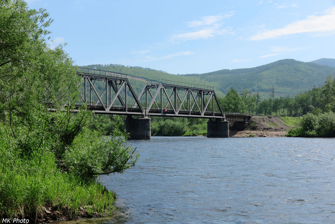 Мост через р. Гур