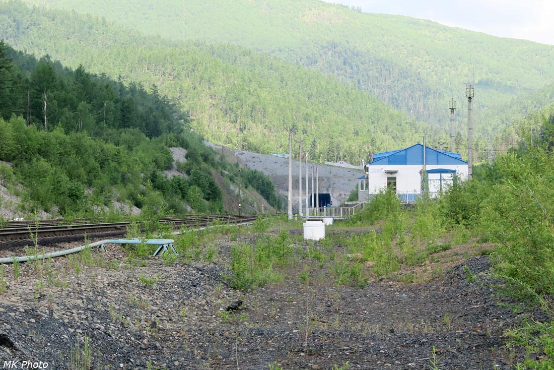 Восточный портал Нового Кузнецовского тоннеля