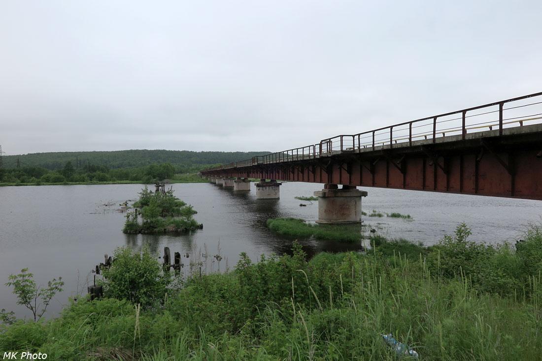 Мост через основное русло Большой Хади