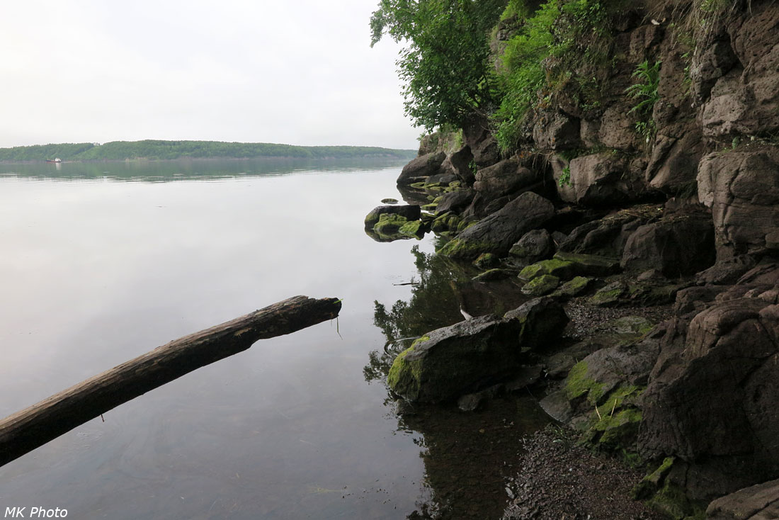 Типичный берег