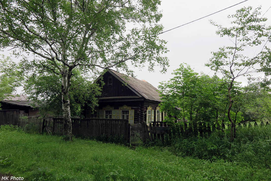 Деревянный дом на ул. Октябрьская