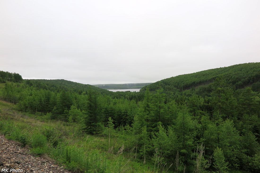 Вид сверху на долину р. Толка