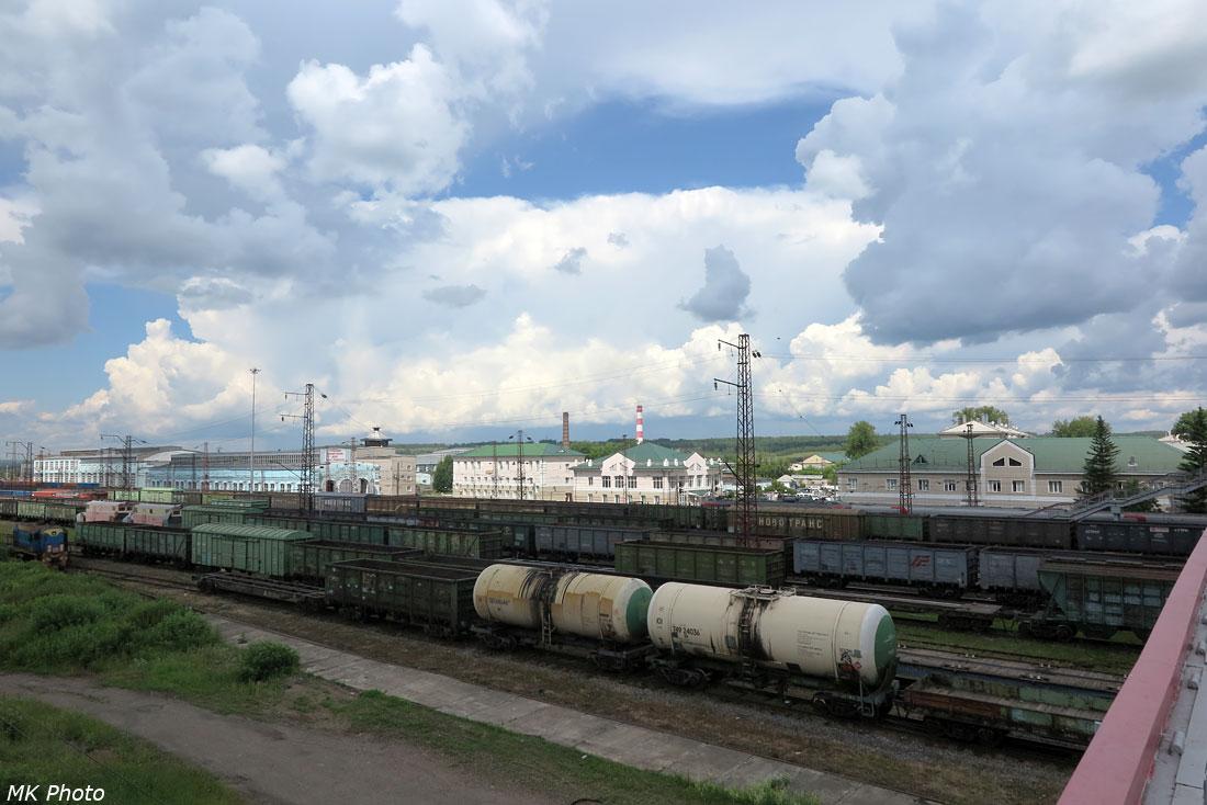 Облака над ст. Иланская