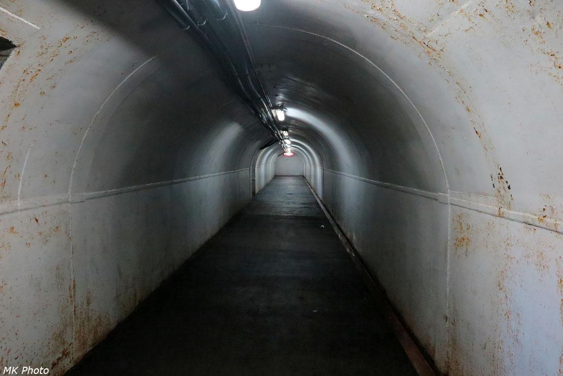 Пешеходный тоннель на ст. Кропачёво