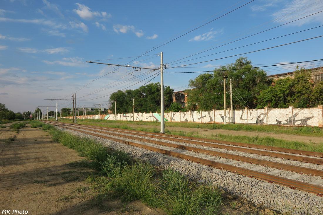 Линия скоростного трамвая после капитального ремонта