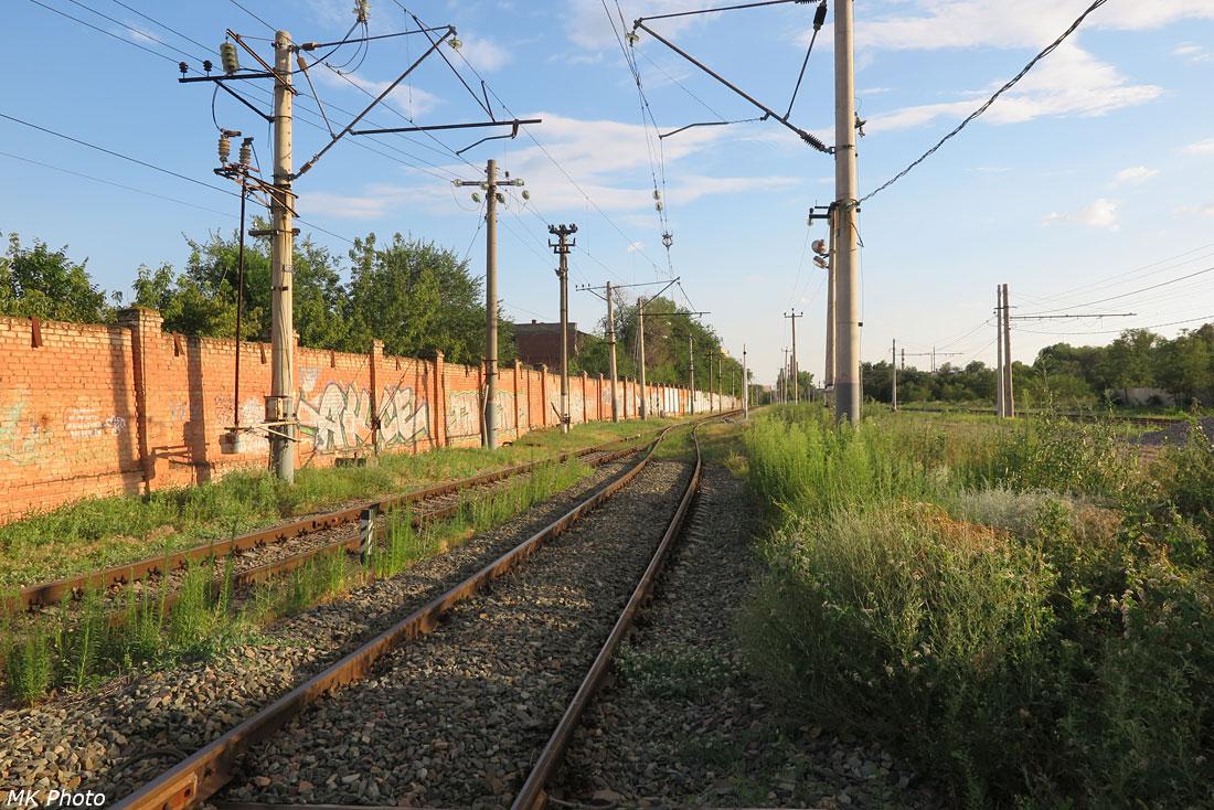 Горловина станции Тракторная-Пассажирская