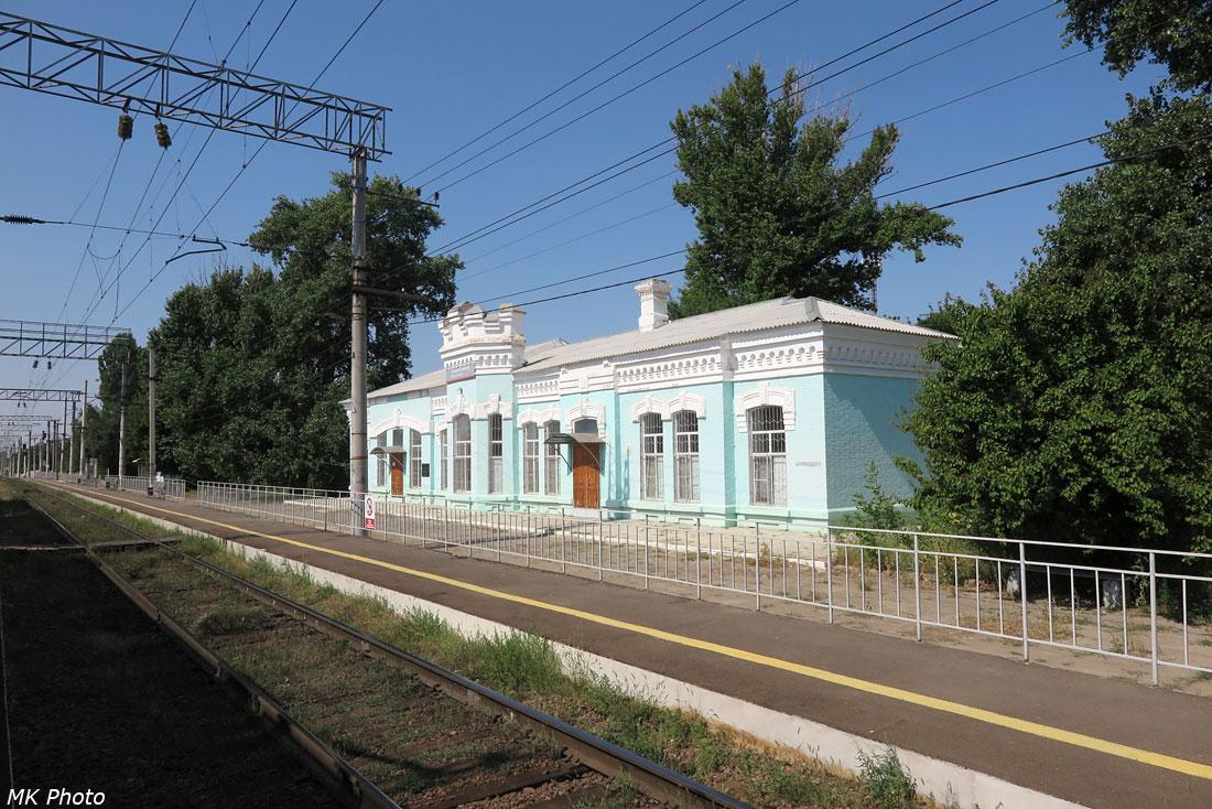 Вокзал Ельшанка