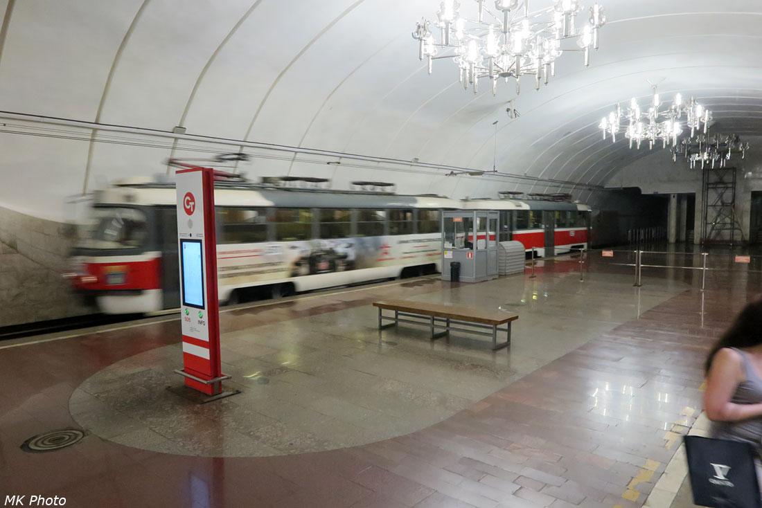 Станция скоростного трамвая ТЮЗ