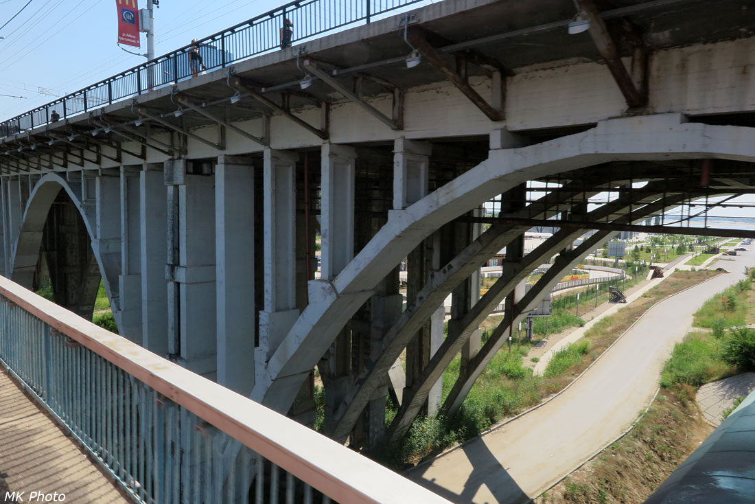 Астраханский мост через р. Царица