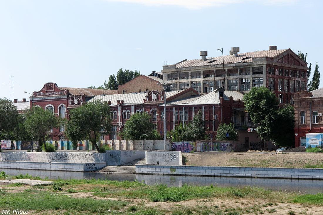 Здание городской электростанции