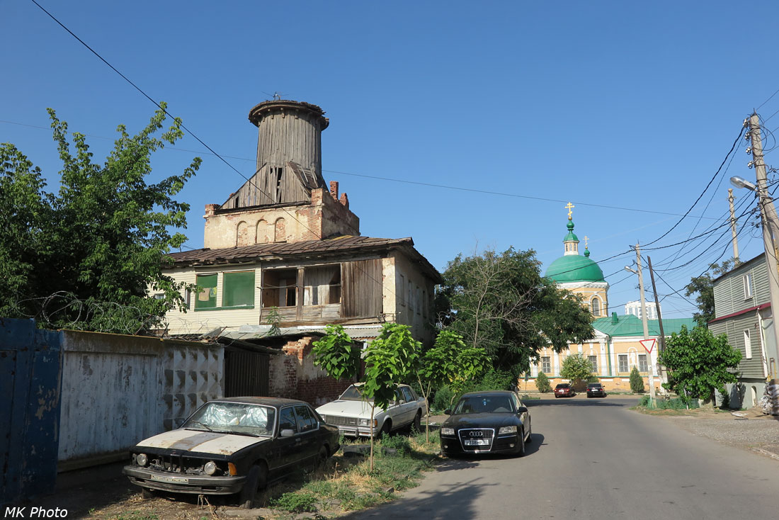 Каланча на крыше жилого дома