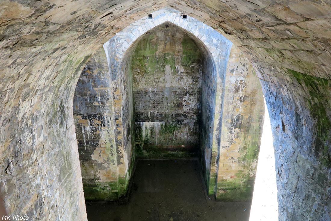 Крестово-купольное водохранилище