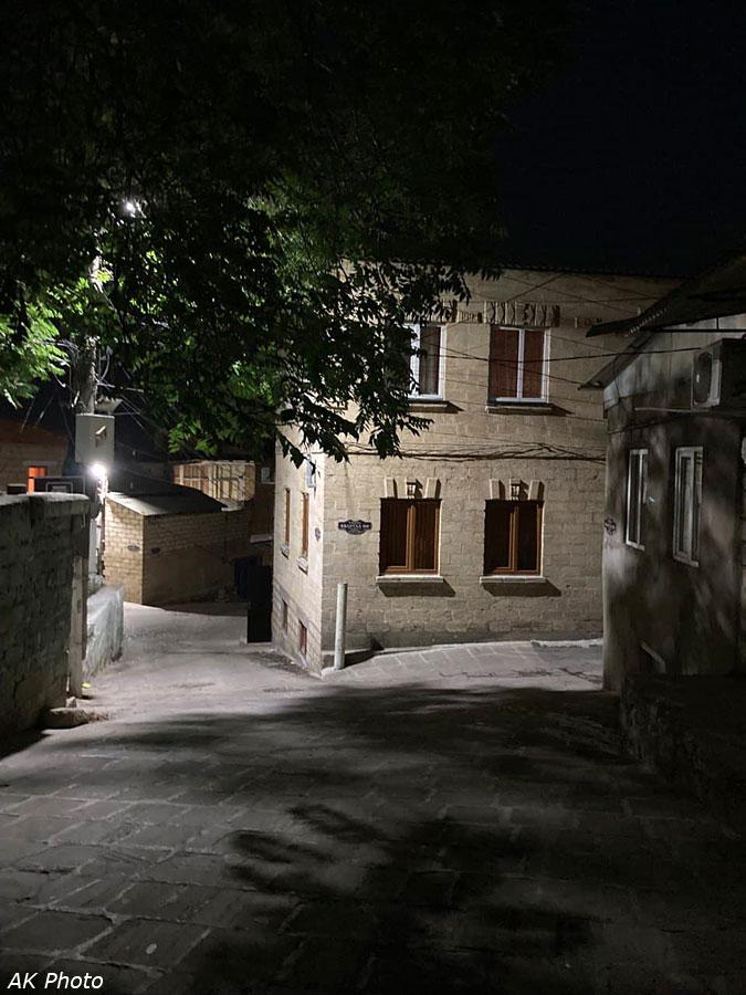 Магалы ночью